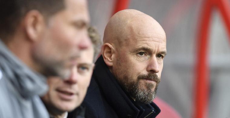 Schöne vol lof over Ten Hag: 'Noodzakelijk om te krijgen wat je nu hebt bij Ajax'