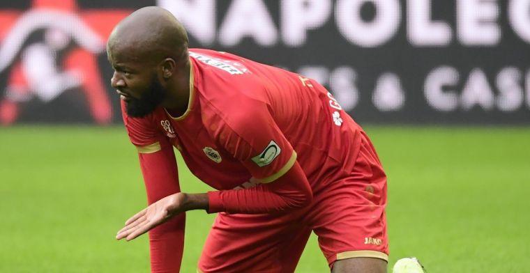 Lamkel Zé laat zich weer opmerken met opvallende viering bij goal Antwerp