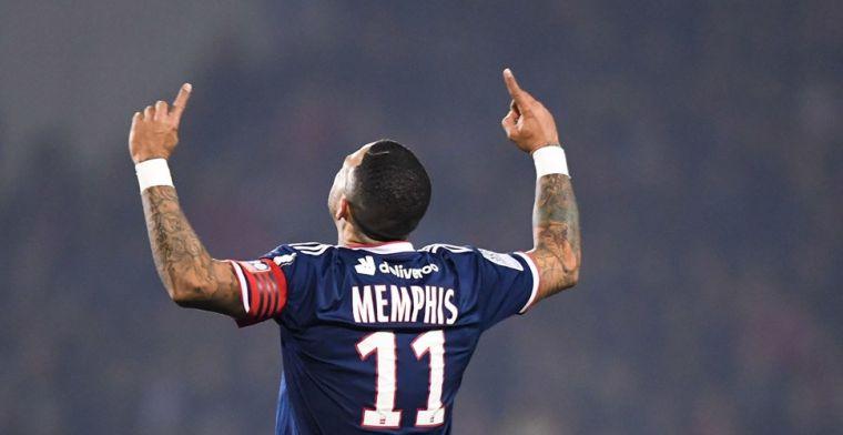 Memphis in bloedvorm bij Lyon, Inter gelijk tegen Roma, weer geen winst Atlético