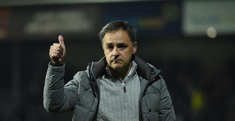 'STVV heeft keuze gemaakt, Emilio Ferrera wordt de nieuwe coach'