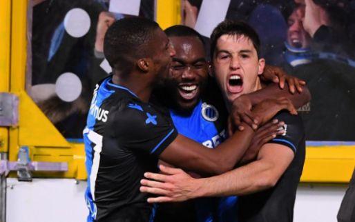 Club Brugge kraakt op Stayen STVV pas in de slotfase