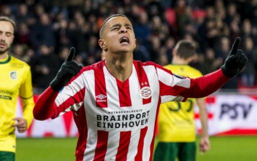 Afbeelding: Feestavond in Eindhoven: PSV scoort vijf keer bij rentree Afellay