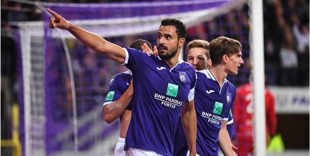 'Anderlecht hoopt Chadli speelklaar te krijgen, Rode Duivel sukkelt met de enkel'