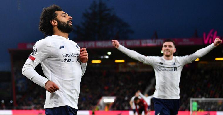Liverpool blijft ongeslagen na Aké-domper, Mourinho ziet wereldgoal bij Spurs