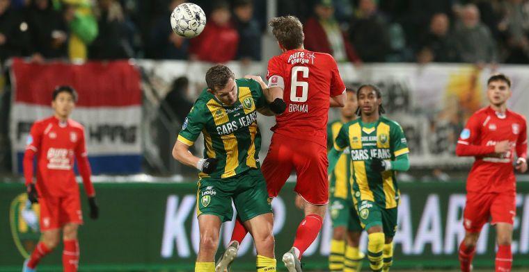 Schokeffect blijft uit: ADO deelt punten met Twente na abominabele wedstrijd