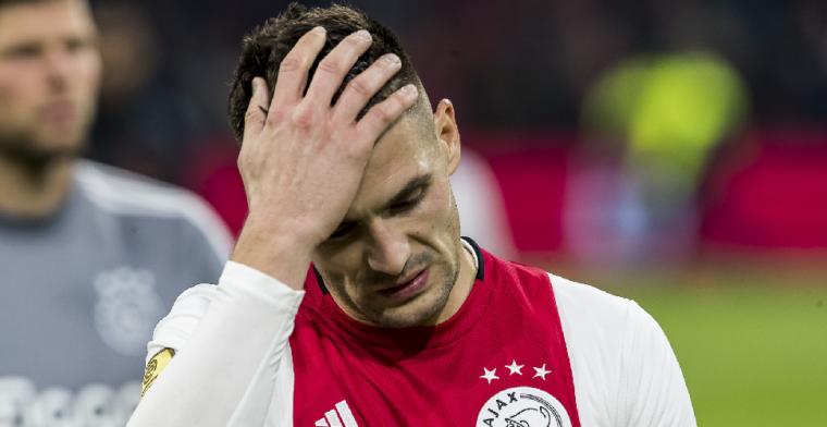 Tadic: 'Ajax speelde op tachtig procent en was al teveel bezig met Valencia'