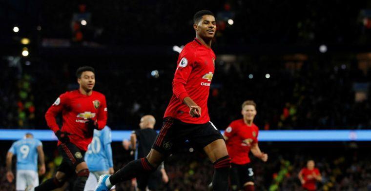 United is de baas in Manchester-derby en deelt City dreun uit in titelstrijd