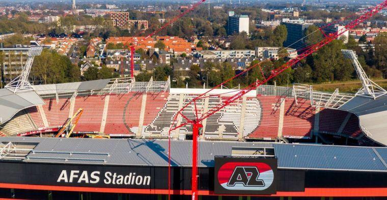 AFAS Stadion krijgt lichtmasten weer terug; stadion bijna klaar voor controle
