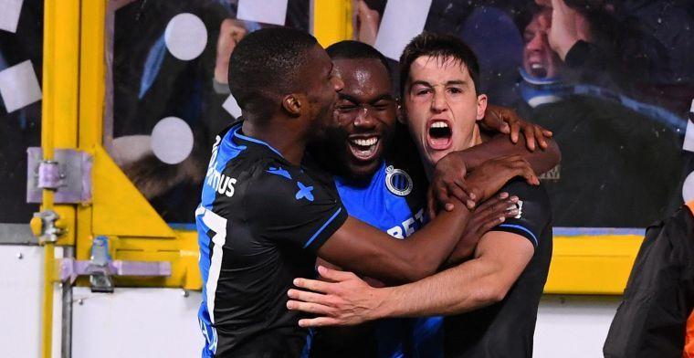 Clement kaatst terug na kritiek op niet scorende spitsen van Club Brugge