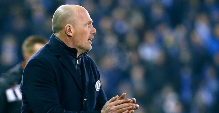 Clement ziet doelpunt Club Brugge afgekeurd worden: Dan kan je veel afkeuren