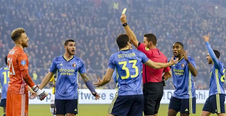Slordig Feyenoord verzuimt worstelend Vitesse pijn te doen in Arnhem