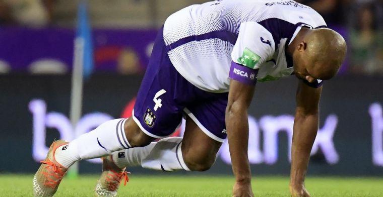 Fans Anderlecht raken gefrustreerd: Twijfels over medische staf