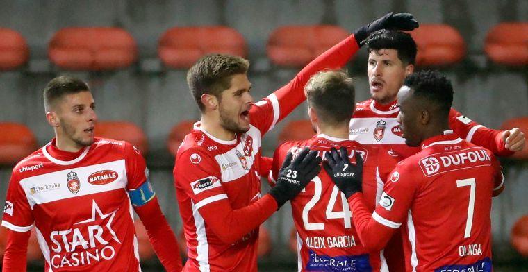 Standard pakt met negen spelers een punt tegen Moeskroen na waanzinnige slotfase
