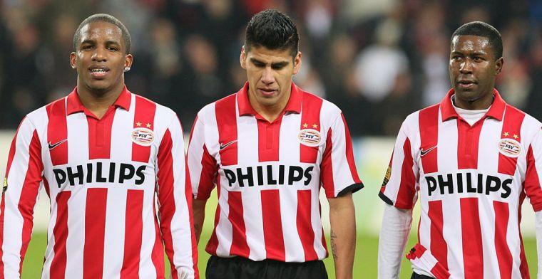 Salcido zocht heil bij McDonald's: 'PSV heeft me op de vloer van de wc gevonden'