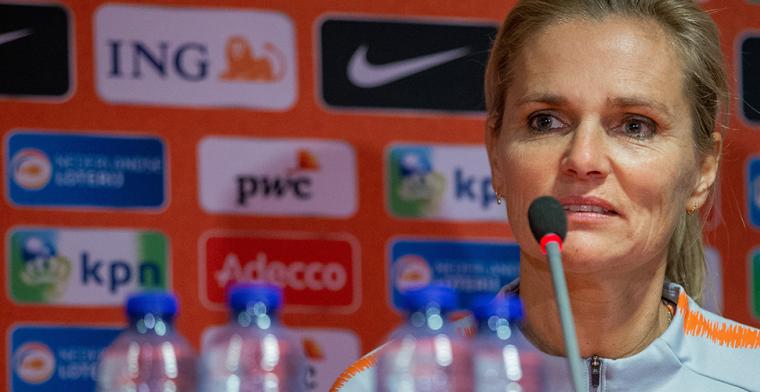 Witte rook Oranje-vrouwen nadert in Zeist: 'De Spelen zijn ook voor mij een droom'