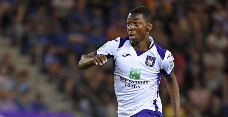Lovende woorden voor Kana: 'De grote patron bij Anderlecht'
