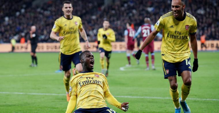 Arsenal wint weer eens in Engeland na geweldige comeback tegen West Ham