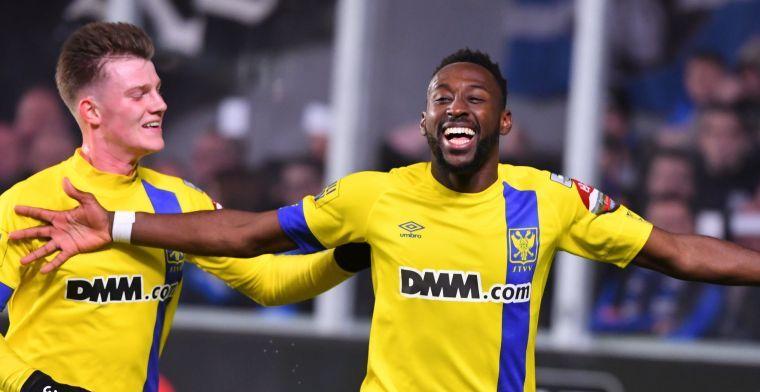 STVV baalt: Gelijkspel was juistere uitslag geweest tegen Club Brugge