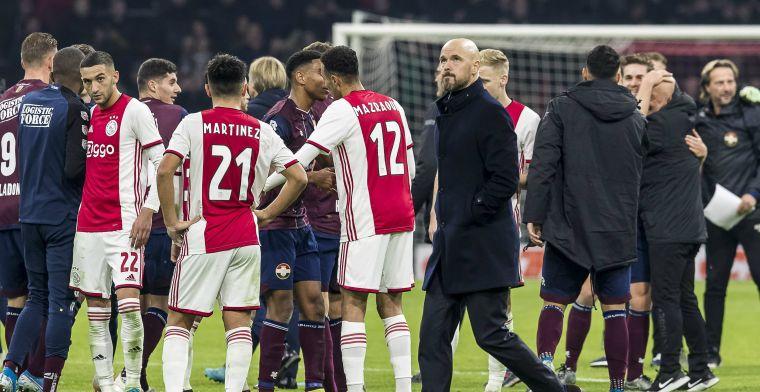Van Hooijdonk kritisch op 'gemakzuchtig' Ajax: Hij liep overal en nergens