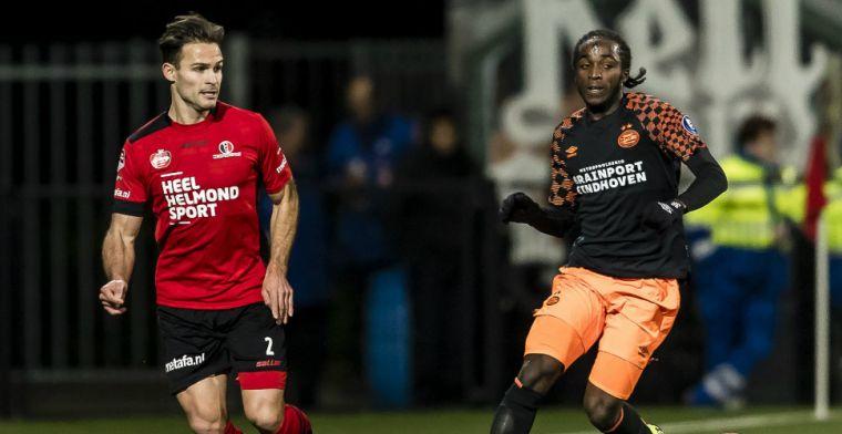 Helmond Sport niet vervolgd na Zwarte Piet-opmerkingen aan adres Jong PSV-speler