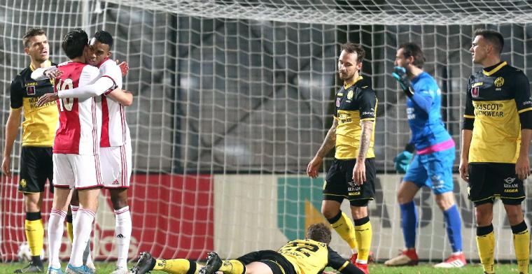 Jong Ajax dankzij Ekkelenkamp tweede, Aboukhlal maakt er vier (!) voor Jong AZ