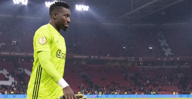 'Race tegen de klok: Ajax mogelijk zonder Onana tegen Valencia'