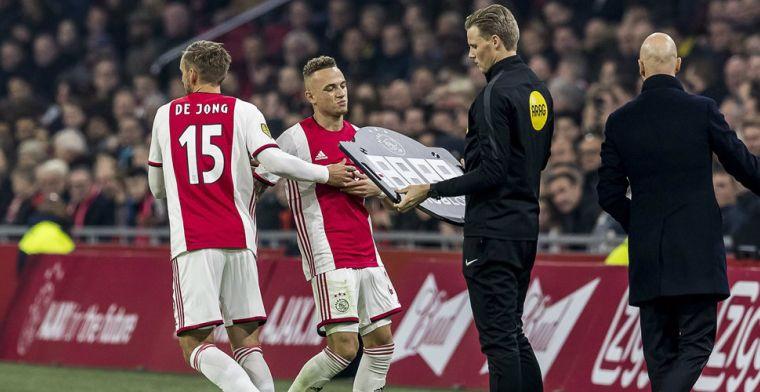 Telegraaf hard over wissels Ten Hag: 'Inbrengen blinde vlek De Jong dieptepunt'