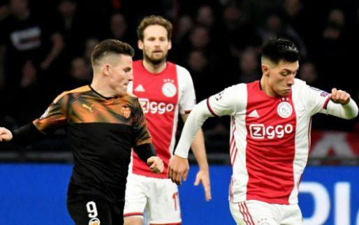 LIVE: Ajax is uitgeschakeld na verlies tegen Valencia in eigen huis (gesloten)