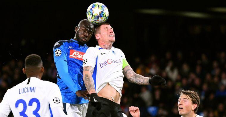 KRC Genk gaat met de billen bloot tegen Napoli en eindigt met één punt