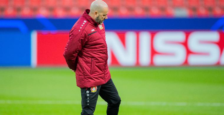Bosz gelooft in het Wonder van Leverkusen: 'Maar dat is geen voordeel'