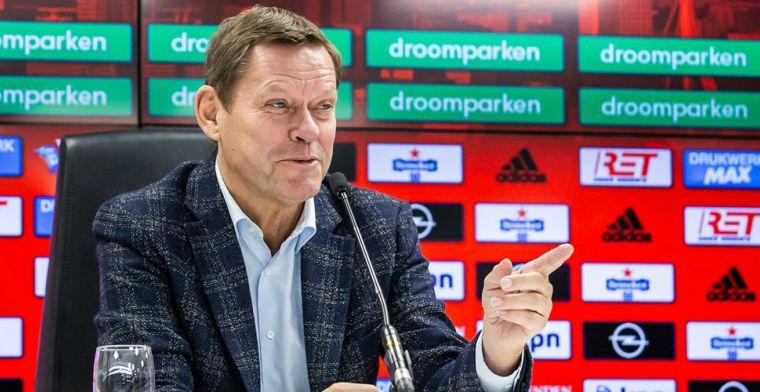 Feyenoord-directeur Arnesen gespot bij FC Nordsjaelland-FC Kopenhagen