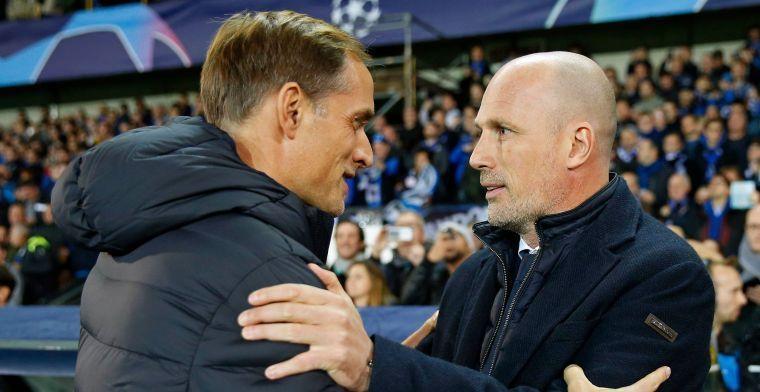 'Ook PSG speelt met B-elftal, Club Brugge moet vol aan de bak'