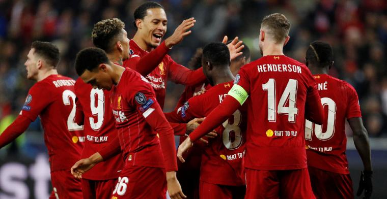 Liverpool wint wedstrijd in twee minuten tijd en schakelt Salzburg uit