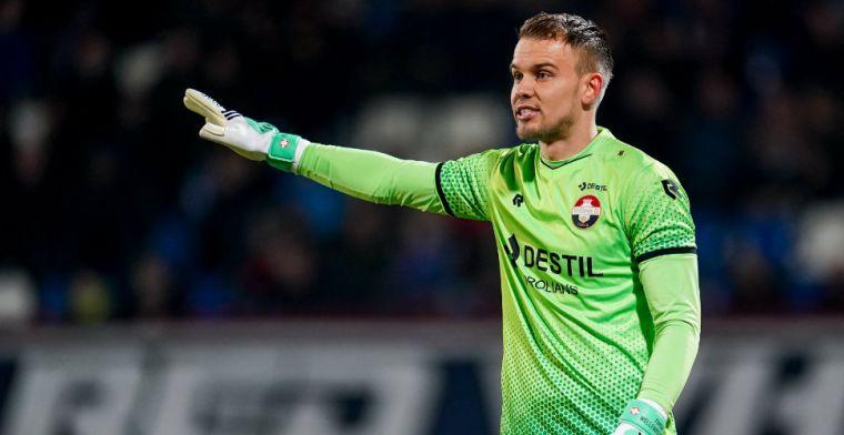 Wellenreuther viel op tijdens winstpartij tegen Ajax: 'Dat is de veiligste optie'