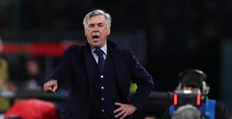 Napoli ontslaat Ancelotti na 4-0 overwinning in Champions League