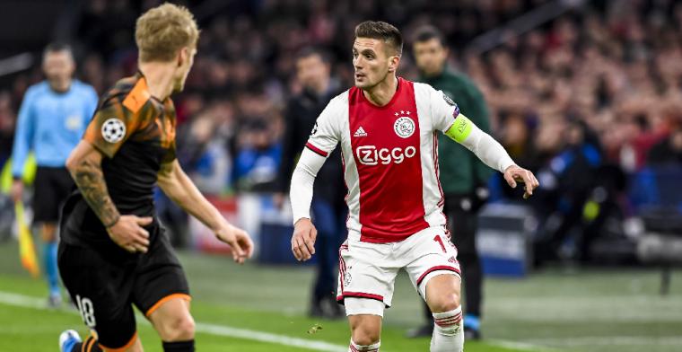 Tadic zit stuk na uitschakeling Ajax: 'We willen in de Champions League spelen'