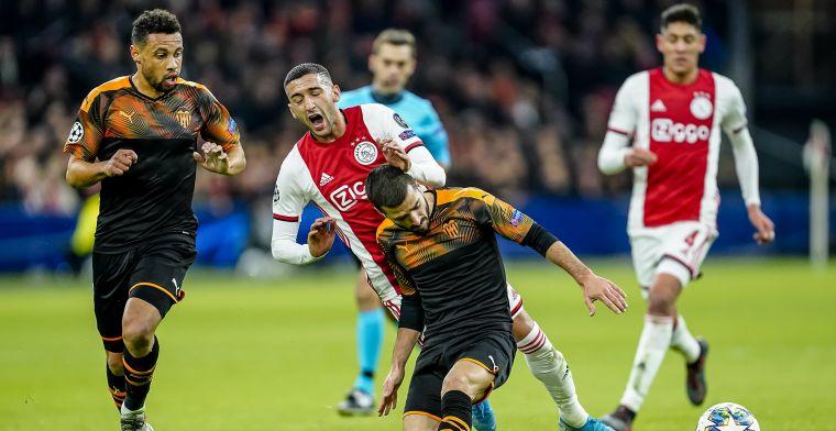 Verlies tegen Valencia betekent einde van Champions League-avontuur Ajax
