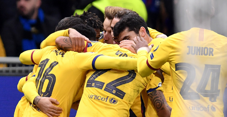 Internazionale uitgeschakeld in Champions League ondanks doelpunt van Lukaku