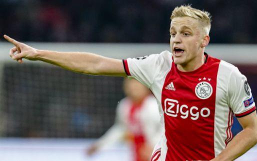 Afbeelding: Van de Beek waarschuwt Ajax: 'Héél stom als we het allemaal gaan verspelen'