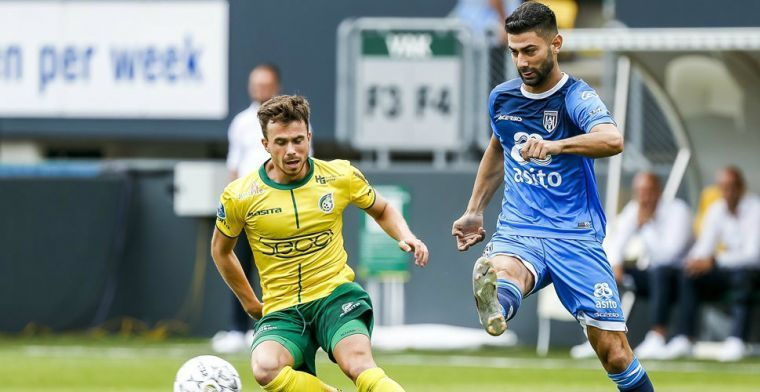 'AZ, Vitesse en Utrecht houden 'transfervrije' Heracles-spelmaker in de gaten'