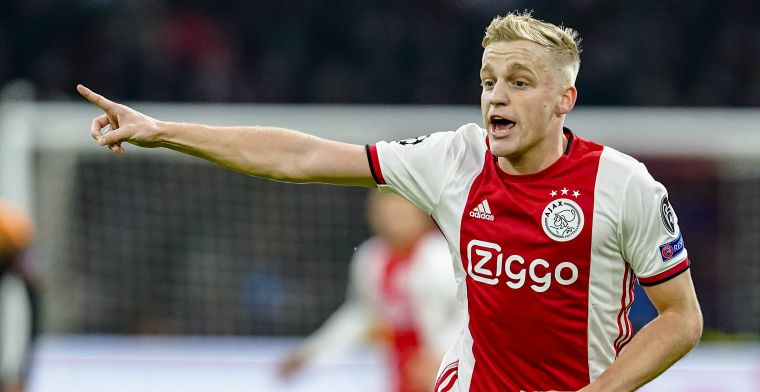 Van de Beek waarschuwt Ajax: 'Héél stom als we het allemaal gaan verspelen'