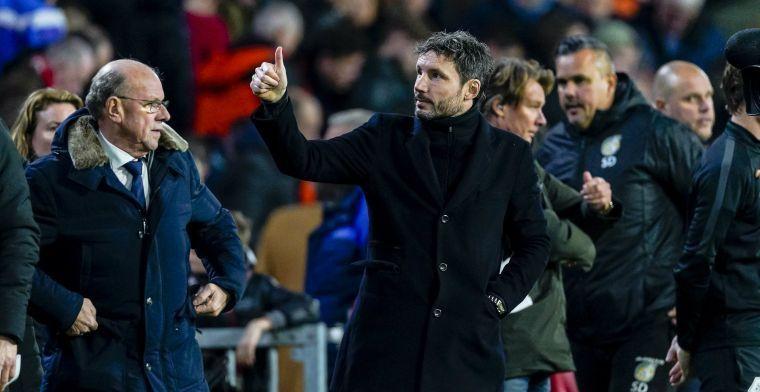 Van Bommel: 'Het gebeurt wel vaker dat je tien punten haalt en toch niet doorgaat'