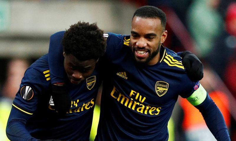 Afbeelding: Europa League: Arsenal dompelt Standard in rouw, uitschakeling Kiev goed nieuws