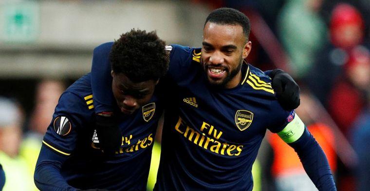 Europa League: Arsenal dompelt Standard in rouw, uitschakeling Kiev goed nieuws