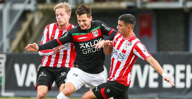 Geen Ajax, maar Sparta na enkelbreuk: 'Moeite om mijn oude niveau te halen'