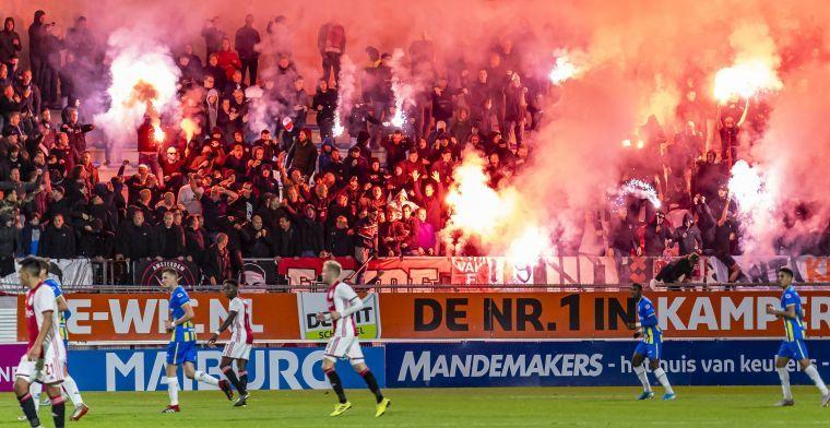 Fakkelzee krijgt staartje voor Ajax: boete, voorwaardelijke straf, stadionverboden