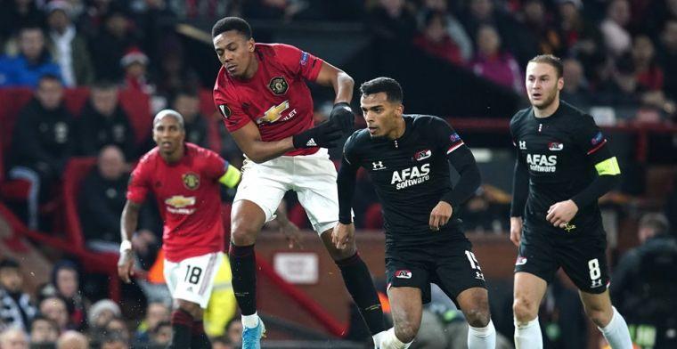 Dramatische fase na rust breekt AZ op: United wint en stelt koppositie veilig