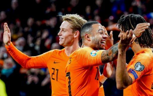 KNVB bevestigt: Oranje komt Dest tegen in eerste oefeninterland van 2020