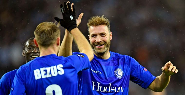 Eén speler van Gent schopt het tot het Team van de Week in de Europa League