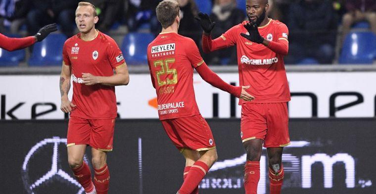 Antwerp kan strafste reeks neerzetten sinds het terug in Eerste Klasse A speelt
